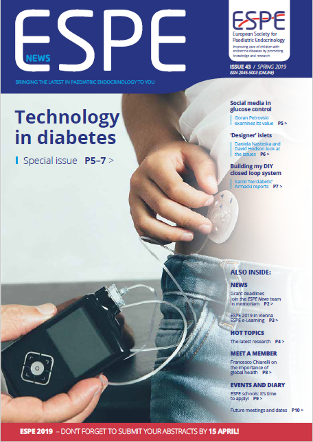 Issue 43 - Spring 2019 - Technology in diabetes
