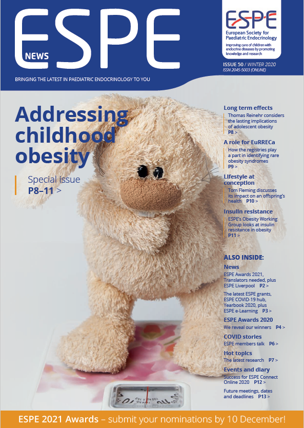 Issue 50 - Winter 2020 - Addressing Childhood Obesity